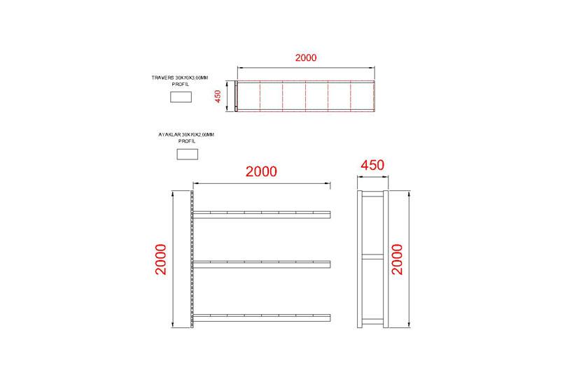 tunayofis-8003-1A-200X45X200-İLAVE-MODUL