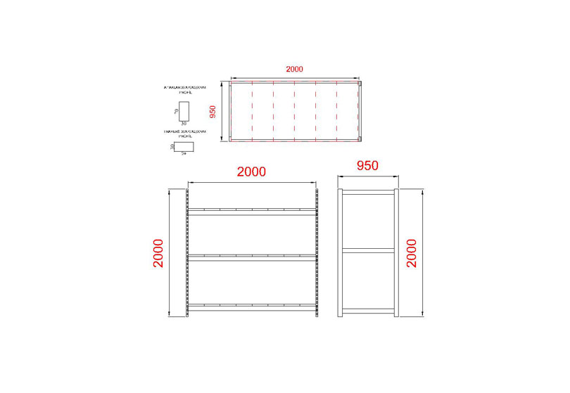 tunayofis-8003-C-200X95X200H-3-RAFLI-ANA-MODUL
